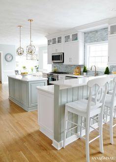 392 best Coastal Kitchens images on Pinterest
