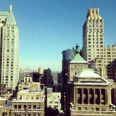 Chilly but gorgeous day in NYC.
