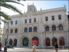Rossio Station; train to Sintra
