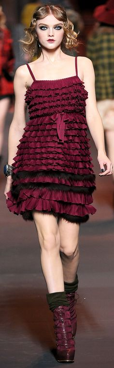 Christian Dior FW 2011 | House of Beccaria~