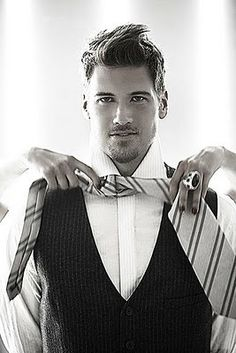 Nick Zano - Could he be Christian Grey.... I'd like to see him try!!!