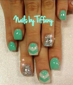 Acrylic nails by Tiffany @ A New Day Spa