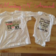 Welcome home military homecoming shirts. Get yours here: www.facebook.com/monkeynaroundcreations