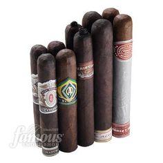 'Best Of Full Bodied Cigars' Sampler #16 This sampler includes: 2 A.B. Tempus Terra Novo Maduro (5 x 50)  2 CAO Brazilia Gol ! Maduro (5 x 56)  2 House Of Montague Toro Dark Natural (6 x 52)  2 Kristoff GC Robusto Maduro (5 1/2 x 54)  2 Oliva Cain 660 Maduro Maduro (6 x 60)  Order Now: http://www.famous-smoke.com/best+of+full+bodied+cigars+sampler+no.+16+cigars/item+42936