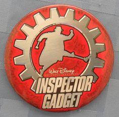 """Walt Disney Pictures Presents / Inspector Gadget [en el filo se lee: """"© Disney""""], 3 ½"""""""