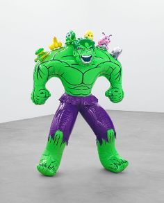"""Jeff Koons: Hulk Elvis."" November 6 - December 20, 2014"