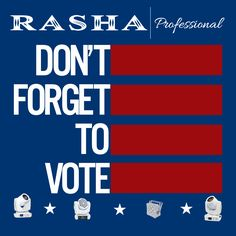 Lets Vote today! Lets light the country! Lets Light up your world!  www.rashaprofessional.com  #rashaprofessional  #rasha #light #color #RGBA #stage #lighting #events #lights #concerts #theater #letslightupyourworld #led #uplights #dj #party #clubs #architecture #landscape #music  #wedding #electionday #primaryday #ivoted