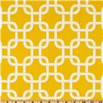 Gold Trellis fabric