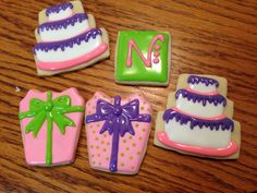 Happy Birthday cookies   Courtney's Confections  