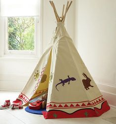 Exciting Teepee for Kids with Pleasing to Eye Design: Children's Room Ideas With Teepee ~ metrohomesite.com Kids Room Designs Inspiration