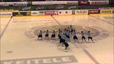 Figure skating competition in Kuopio, Finland.