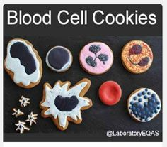 Blood Cell Cookies