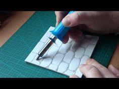 suelo de adoquines en goma eva - YouTube