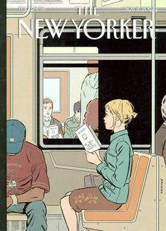 The New Yorker Cover - November 8,2004 - Adrian Tomine