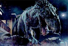 Indominus Rex vs T Rex