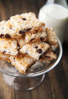 Seven Layer Cookies from Use Real Butter.  I was instantly reminded of my daughter and her senior year of college room mates.  They called them Magic Princess Dream Bars or something like that.