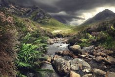 "Braveheart's Legacy, Spectacular Scottish Landscape Photography by Kilian Schönberger  ""Braveheart's Legacy"" is a beautiful photo series by German photographer Kilian Schönberger, exploring the Scottish Highlands, in the steps of William Wallace…"