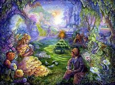 fairy paintings josephine wall | Joséphine Wall -surreal