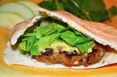 Curried Turkey Burger | Tips From Town