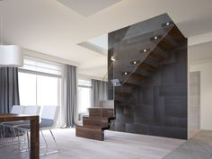 flat interior render