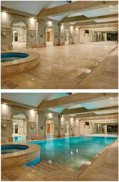 Hide-away pool!