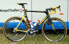 Marcel Kittel's yellow Giant Propel and Tour de...