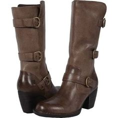 Born Maleri Women's Boots Under/Light Grey Full Grain Leather : 9.5 M (B