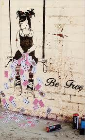 Be Free street art - Recherche Google