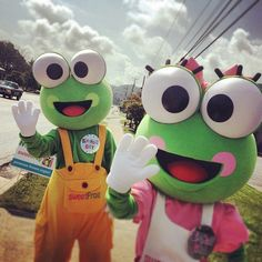 Scoop and cookie celebrating Boone Sweetfrog's 1st birthday!!