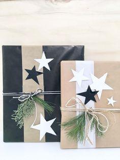 DIY-Dekoration ° So kannst du Geschenke für Weihnachten besonders schön verpacken Christmas Gift Wrapping, Christmas Presents, Christmas Gifts, Christmas Decorations, Preschool Decorations, Holiday Gifts, Christmas Ideas, Cute Gifts, Diy Gifts