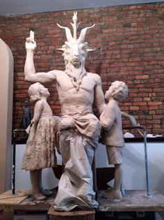 ❥ Here's the First Look at the New Satanic Monument Being Built for Oklahoma's Statehouse |~