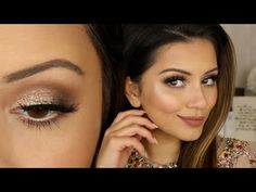 EASY 3-step Cut Crease Tutorial + GLITTER Cut Crease - YouTube