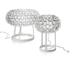 Lámpara Caboche de Foscarini.  Diseño: Patricia Urquiola + Eliana Gerotto, 2005.  Muebles de diseño.   #lighting