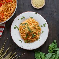 Roasted Red Pepper Pasta with Nutritional Yeast | Frontier Co-op