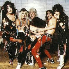 Motley Crüe and Ozzy Osbourne (Sabbath). Freddie Mercury, Hamsters, 80s Hair Metal, Mick Mars, 80s Hair Bands, Vince Neil, Tommy Lee, Big Photo, Nikki Sixx