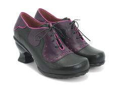 I tried these on yesterday (12/15/14) at John Fluevog in Boston, and most likely they'll be my next 'Vog purchase. This model is called Viv. Gorgeous and comfy!
