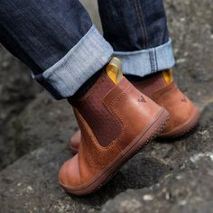 Men's Minimalist Barefoot Neoprene/Leather Shoe