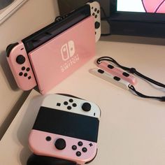 Cat W on - Switch Nintendo - Switch Nintendo for sales - Nintendo Switch Accessories, Iphone Accessories, Accessoires Iphone, Gaming Room Setup, Kawaii Room, Game Room Design, Cute Games, Gamer Room, Pc Gamer