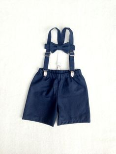 Ring Bearer set, Boys outfit, Suspenders Set, Baby boy suit, Braces tie shorts, Ring Boy Outfit, fourtinycousins, Toddler boy, baby boy prop by fourtinycousins on Etsy https://www.etsy.com/listing/198617542/ring-bearer-set-boys-outfit-suspenders