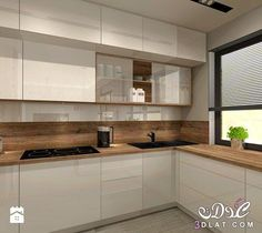 Modern kitchen design for small house - # worktop # for .- Modern kitchen design for small house – # countertop # for # kitchen design - Kitchen Room Design, Kitchen Sets, Modern Kitchen Design, Home Decor Kitchen, Interior Design Kitchen, New Kitchen, Home Kitchens, Modern Kitchen Cabinets, Kitchen Worktop