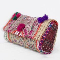 Banjara Clutch Bag Trendy Clutch Vintage Clutch Bag Sling Purse Boho Clutch - Best DIY and Crafts 2019 Handmade Rakhi, Handmade Bags, Afghan Clothes, Diy Purse, Vintage Clutch, Diy Clothing, Sewing Tutorials, Purses, Clutches