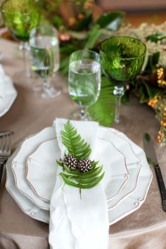 Fall inspiration: http://www.stylemepretty.com/massachusetts-weddings/2015/02/27/natural-greenery-fall-wedding-inspiration/ | Photography: Deborah Zoe - http://www.deborahzoephoto.com/