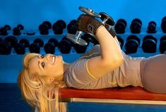 Many people over train in their attempt to find the best arm workout. These pro ana arm workouts are some of the best and easiest to do.