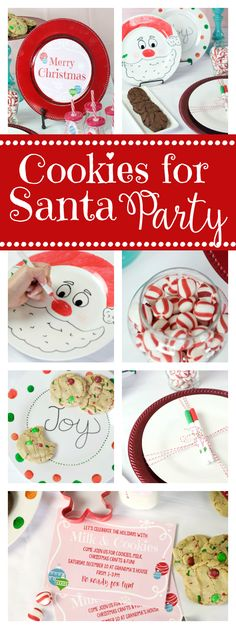 Cookies for Santa Party