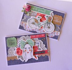 Boho Dreams cards- Adriana Bolzon