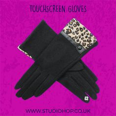 We don't want to admit it, but it's starting to get a little chilly isn't it? Don't worry though, you'll be safe in our 'hands' with these animal print gloves (sorry!) They're super warm and cosy and will finish your outfit in style. We've got a selection of different colours and also have some really pretty gift boxes if you wanted to treat somebody.  #winterscoming #fashiongloves #londonfashion #timetowrapup #fashionaccessories #animalprint #animalprintgloves