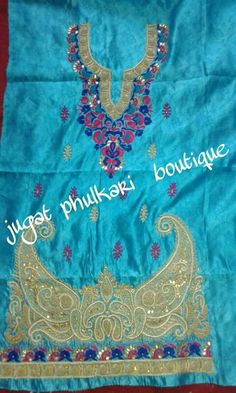 Beautiful suit Indian Suits, Punjabi Suits, Phulkari Suit, Beautiful Suit, Kurtis, Embroidery, Boutique, Clothes, Design