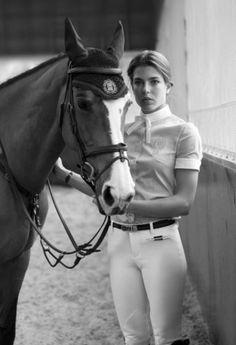 Charlotte Casiraghi daughter of Carolina de Monaco.  Granddaughter of Grace kelly.