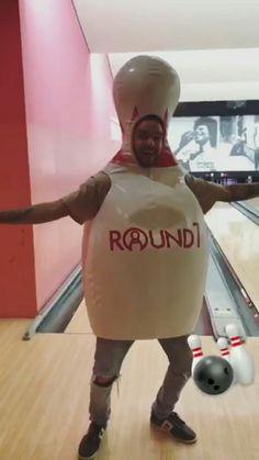 Liam Payne bowling (Via his story) (24/3)