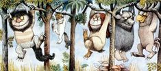 Children's book author / illustrator Maurice Sendak took us on a wild ride. He will be missed. Maurice Sendak, Art And Illustration, Book Illustrations, Doodle Google, Poster Prints, Art Prints, Poster Poster, Art Graphique, Children's Literature